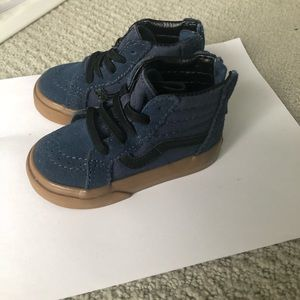 Toddler vans hightop sneakers